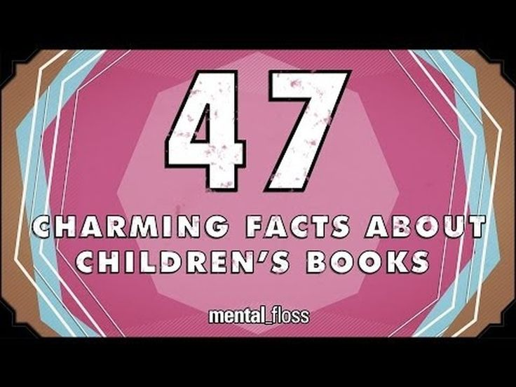 Here Are Some Odd Facts About Pretty Much Every Children's Book You've Ever Heard Of