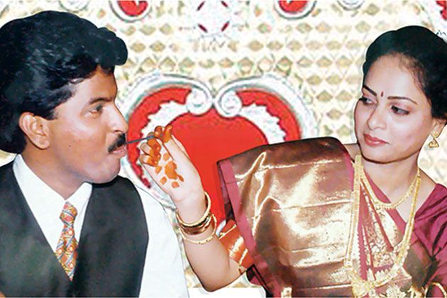 Matrimony.com CEO Murugavel Janakiraman found his wife, Deepa Naicker, through his own site www.bharatmatrimony.com