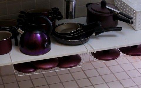 Simples e barata, sugestão funciona bem para cozinhas com pouco espaço
