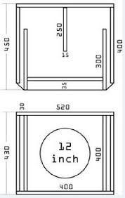 Bildergebnis für diy subwoofer box design