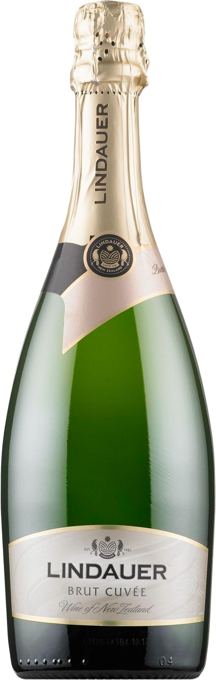 Lindauer Cuvée Brut. New Zealand: Chardonnay, Pinot Noir. 12,95 €. Erittäin kuiva, hapokas, kypsän sitruksinen, hennon karviaismainen, mineraalinen, kevyen paahteinen