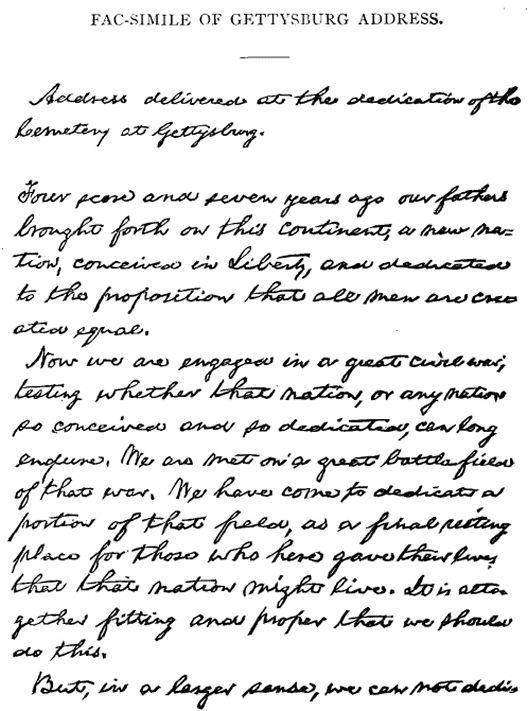 the best gettysburg address text ideas gettysburg address printable text