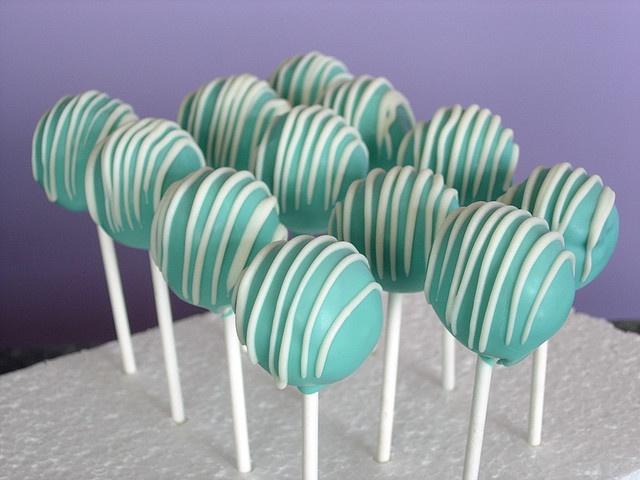 Tiffany Blue Cake Pops.  :)