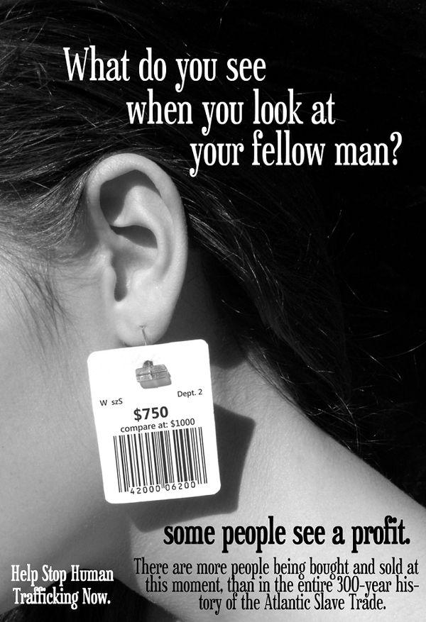 Human Trafficking Poster by RJDaae on DeviantArt