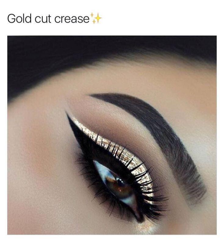Glitter Cut Crease   #glitter #cutcrease #makeup