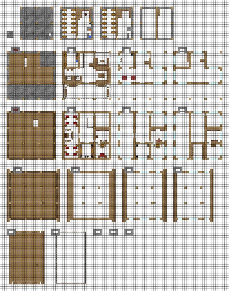 квартиры в майнкрафте схемы веранда