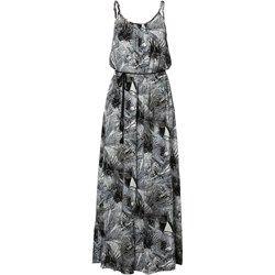 ONLY HERMINE Długa sukienka cloud dancer/black ash