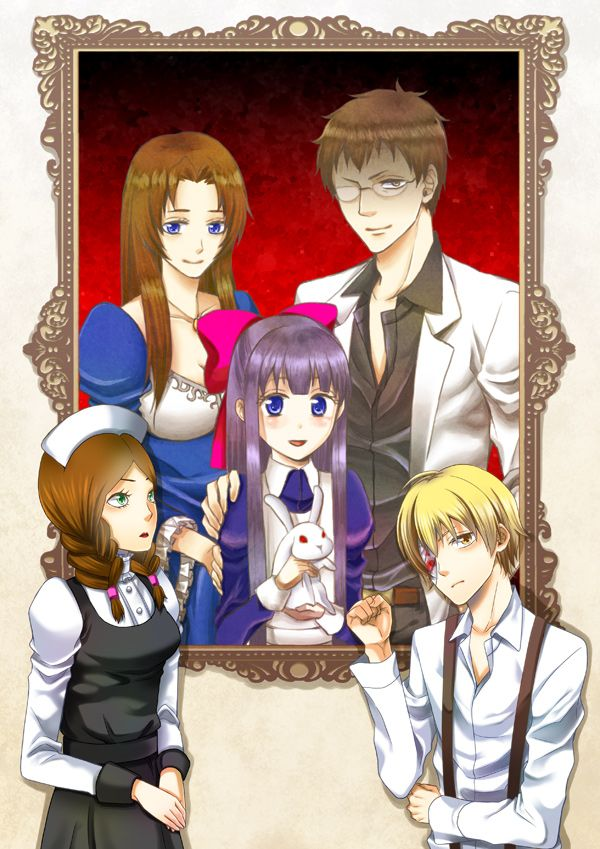Mad father- my favorite characters are the blonde dude, the mom, and Aya; the other two can go straight to heck.