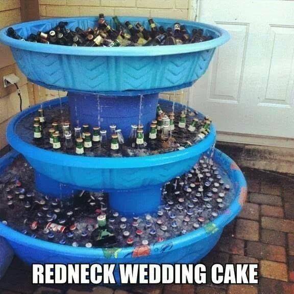 38 best Redneck Wedding Ideas images on Pinterest
