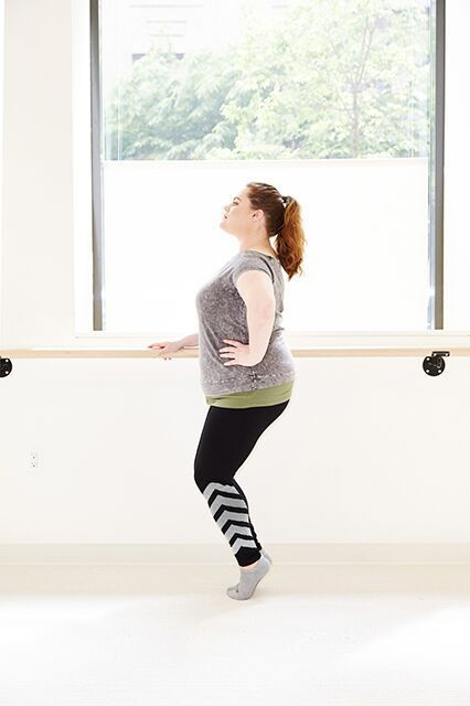 Facing My Biggest Fitness Fear #refinery29 http://www.refinery29.com/barre-workouts-bar-method