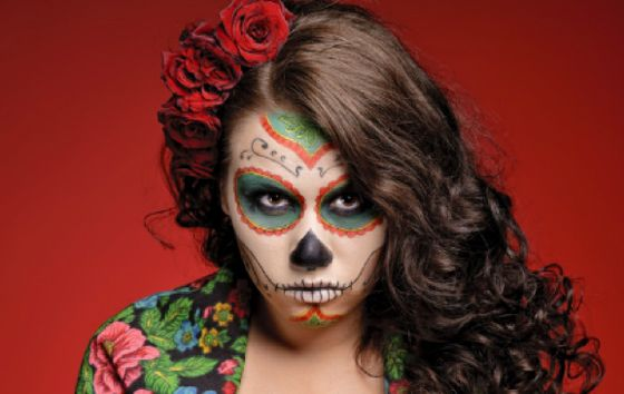 sugar skull hair styles 17 best images about quinceanera makeup on 2874