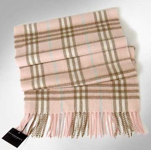 Burberry scarf...one of my fave things for winter!