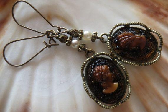 Rococo earring barok Madame oorbellen antieke kunst door schmuckoma