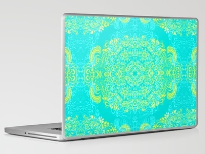 Laptop & iPad Skin - Thinking - 2 colour zest by Cally Creates $30: Art Crafts, Callies Create, Colour Zest, Favorite Things, Ipad Skin, Create Products, Crafts Design, Laptops Skin, Zest Laptops