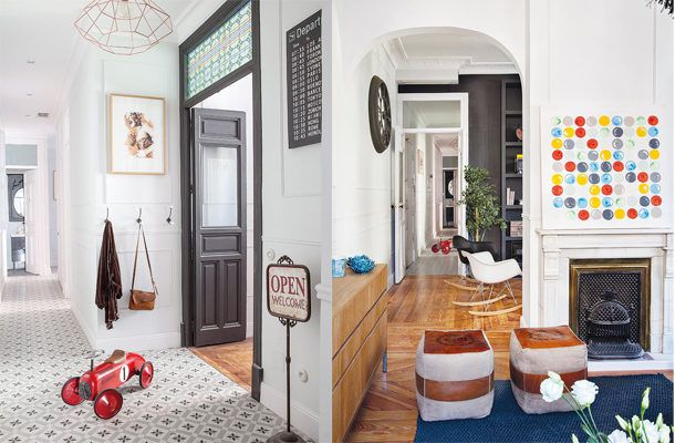 House Tour: Between vintage and classic