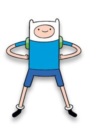 Marshall's costume. Finn from Adventure Time.