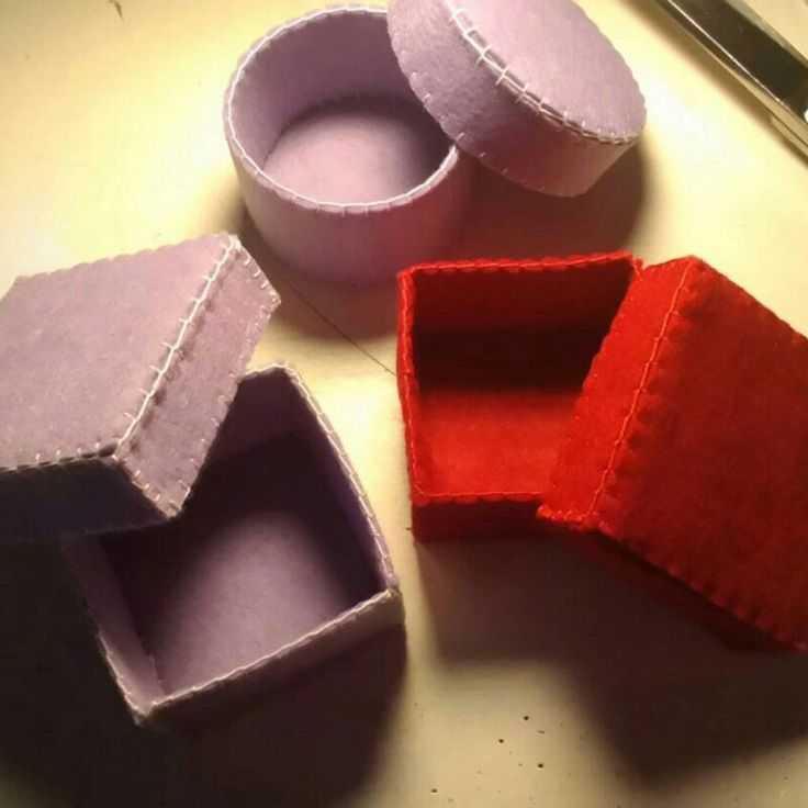 Coming soon...new decoration and new colors for my Felt Box/Party Favors/Wedding Favors :)