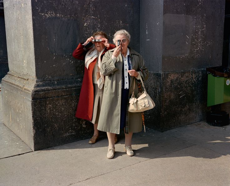 Vintage Snapshots Of Italy In The 1980s by  Charles H. Traub