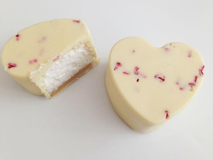 Annettes kager og andre lækkerier: Flødeboller støbt i en silikone form