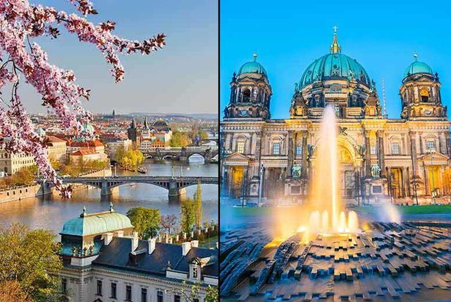 4-6nt Berlin & Prague, Flights & Train Transfers - Optional Tours!