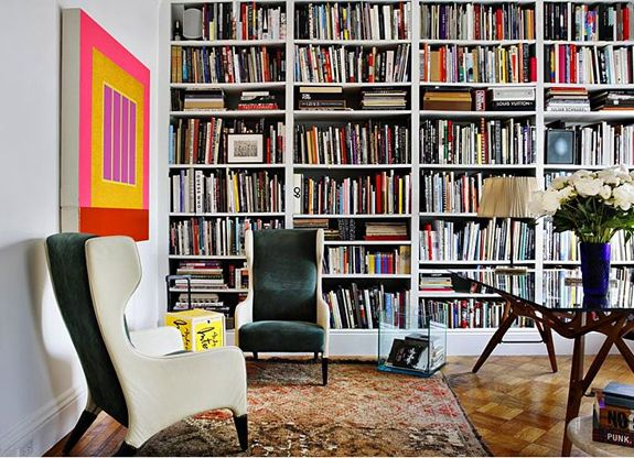 A nice big library room would be my dream Bookshelves
