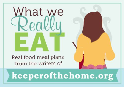 An Easy-Peasy Meal Plan for the Pregnant Mom - Keeper of the Home