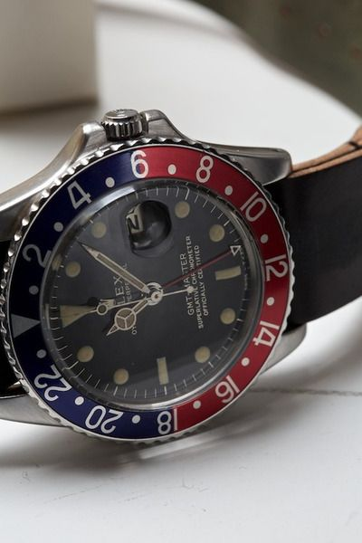 Rolex GMT II pepsi dial   MustHaveWatches