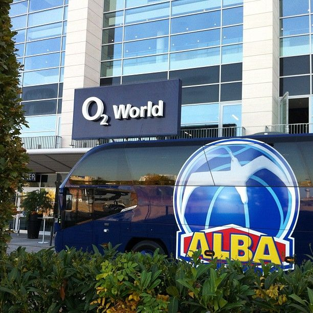 Neuer Teambus für @ALBA BERLIN