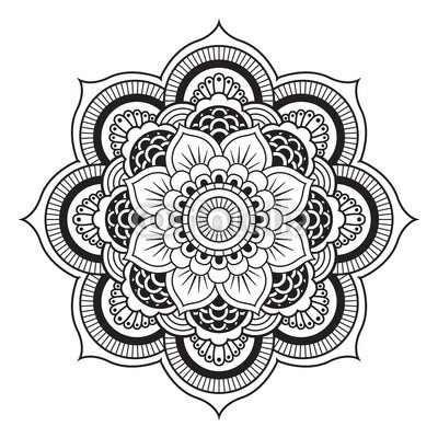 I want to draw my own mandala designs soon.
