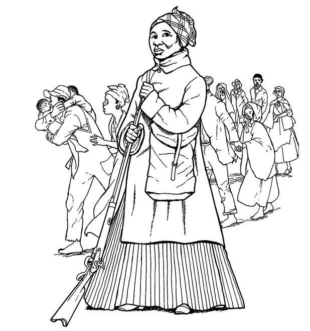 Homeschool Lesson Plan: Harriet Tubman