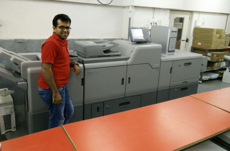Printstop invests in Ricoh digital engine C7100