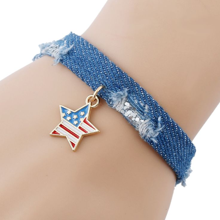 1 piece National Day gift Star flagTassel Pendant Women Bracelet Denim Jeans Wristband Boho Jewelry     Tag a friend who would love this!     FREE Shipping Worldwide     Get it here ---> http://jewelry-steals.com/products/1-piece-national-day-gift-star-flagtassel-pendant-women-bracelet-denim-jeans-wristband-boho-jewelry/    #necklaces