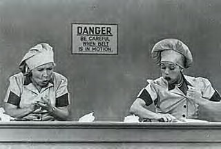 LOVE Lucy and Ethel!Favorite Episode, Laugh, Ethel, Lucile Ball, Chocolates Factories, Lucille Ball, Funny, Movie, I Love Lucy