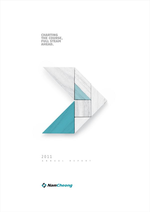 Annual Report & Concept Development by Elaine Tham, via Behance