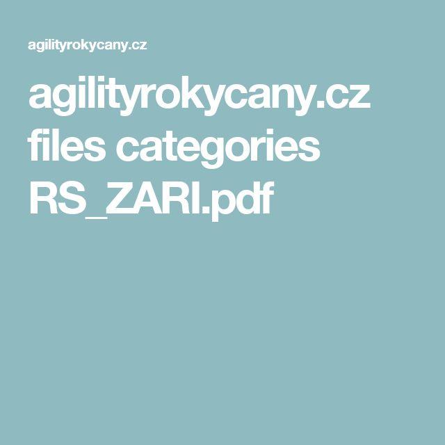 agilityrokycany.cz files categories RS_ZARI.pdf