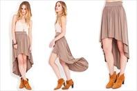 Fish Tail Hem Skirt
