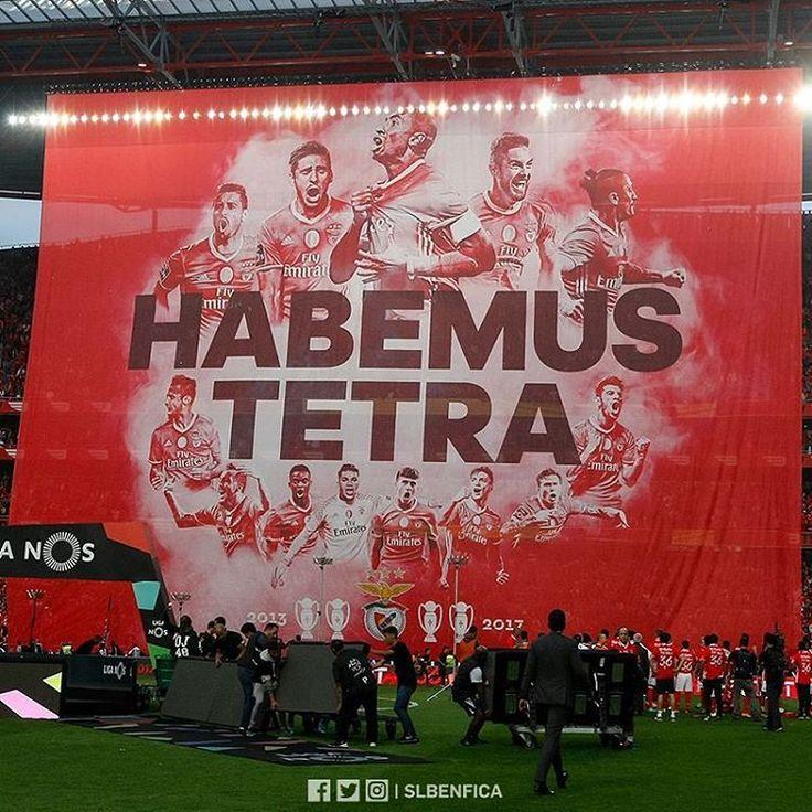 """33 m Gostos, 61 Comentários - Sport Lisboa e Benfica Oficial (@slbenfica) no Instagram: """" #Tetra36"""""""