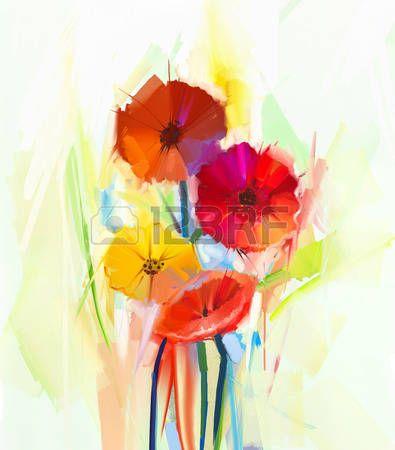 25 beste idee n over geschilderde bloemen op pinterest bloemen schilderij bloemen schilderen - Decoratie stijl van de bergen ...