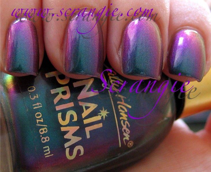 Scrangie: Sally Hansen Nail Prisms Turquoise Opal