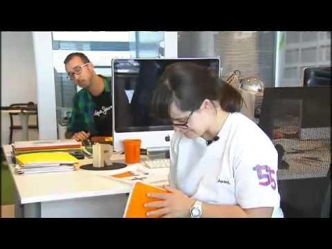 Anna Vives i la seva tipografia al canal 3/24