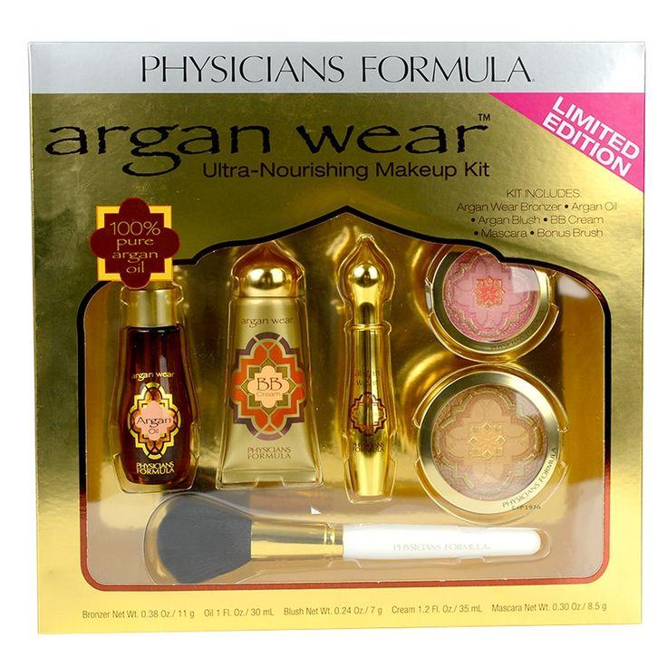 Physicians Formula Argan Wear Ultra-Nourishing Makeup Gift Set! 6 pack