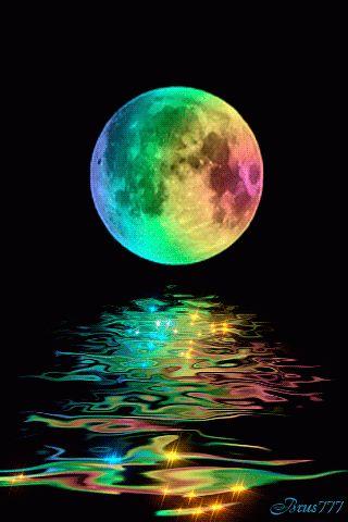 luna arcoiris
