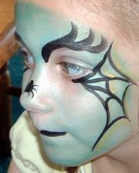 DIY Halloween : DIY Halloween Witch Face Painting