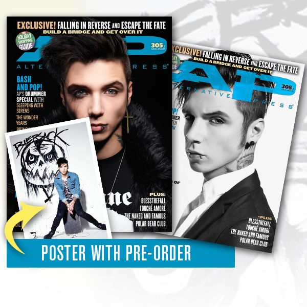 Andy's on the cover of AP magazine!! <3