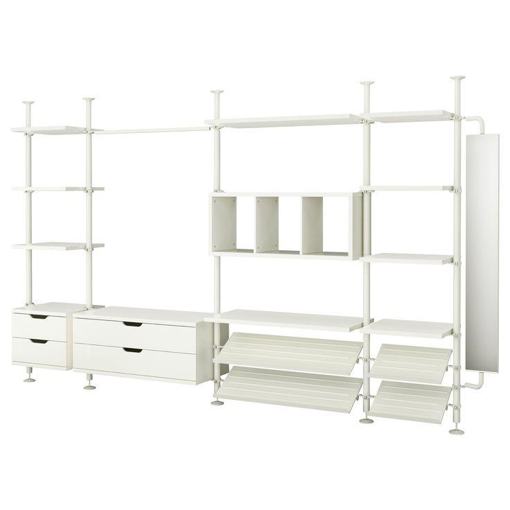 Distribució armari Dormitori: STOLMEN 4 secciones - IKEA
