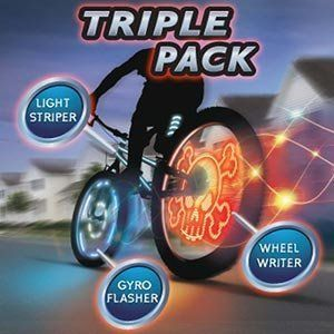 Meon 876724 Light Up Bikee FX Triple Pack by Meon. $34.99