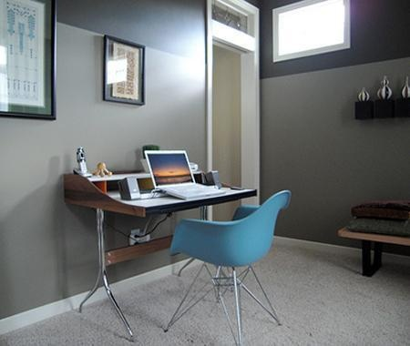 Grey Walls With Neutral Carpet