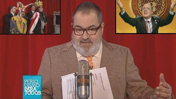 Jorge Lanata abrió el cuarto programa de Periodismo Para Todos y se detuvo en varios temas de actualidad como los damnificados de La Plata por las inundaciones, la democratización de la Justicia y sobre el silencio de la Presidenta. Mirá: