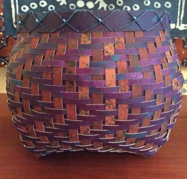 2273 best images about basket weaving on pinterest linen for Bamboo weaving tutorial
