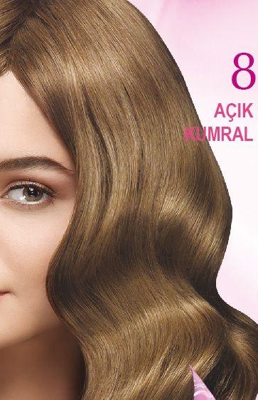 Nevacolor 2017 Saç Renk Kartelası - Nevacolor açık kumral saç rengi